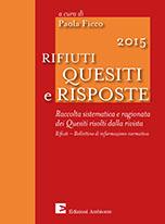 Rifiuti 2015 - Quesiti e risposte