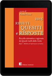 Rifiuti 2015 Quesiti e Risposte