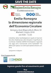 Emilia Romagna – La dimensione regionale dell'Economia Circolare